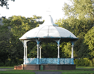 A Band stand in Milford Haven